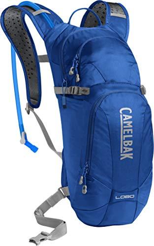 CAMELBAK Mochila Hidratación con Protector De Espalda Integrado Y Bolsa De Agua Incluida (Default, Azul)