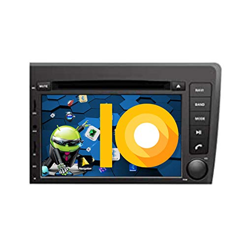 ZWNAV Android 9.0 Autoradio Sat Nav GPS Navigazione per Volvo S60 V70 XC70 2000-2004, Europa 49 Paese Mapping, Lettore DVD, SWC, Wifi, Bluetooth, IPS Touch Screen