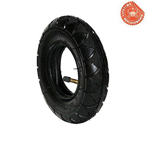 FDJ 200x50 (8'x2') Electric & Gas Scooter Tire Razor ePunk Tire & Inner Tube Set for E100 & E200 Scooters