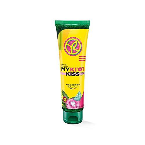 Yves Rocher HELLO PRINTEMPS Parfümiertes Körperpeeling My Kiwi Kiss, für eine glatte, samtig-weiche Haut, 1 xTube 150ml