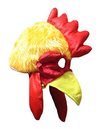 Petitebelle Maske Huhn Hut Unisex verkleiden Partei-Kostüm für Kinder Einheitsgröße Orange