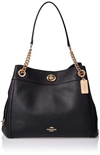COACH Turnlock Edie Li/Black One Size