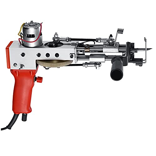 SUNWEII Rug Tufting Gun Electric, Electric Carpet Tufting Gun, Pistola eléctrica de alfombras para...