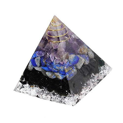 Hedear Chakra Orgone Pyramid - Cristales de energía Positiva, Crystal Tree of...