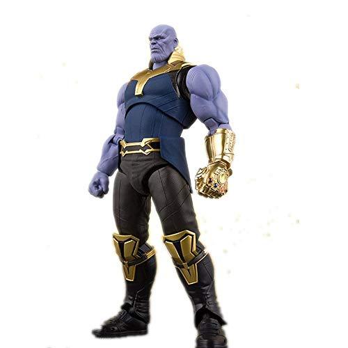 Thanos Figura Acción PVC Juguete Niños Colección Estatua Película Vengadores Escritorio Modelo Decorativo Modelo Muñeca Defensive-16cm