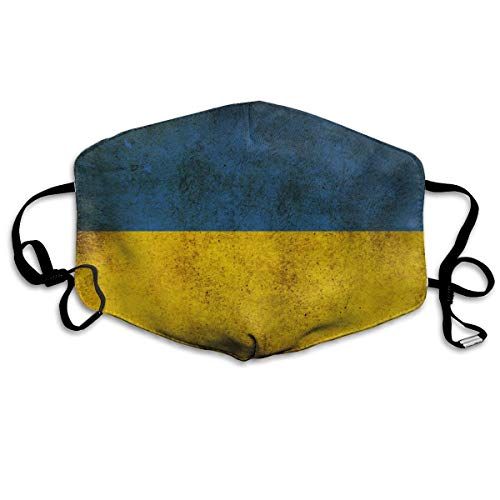 Vlaggen Oekraïne Unisex volledige dekking buis gezichtsmasker Bandanas UV bescherming nek Gaiter hoofdband