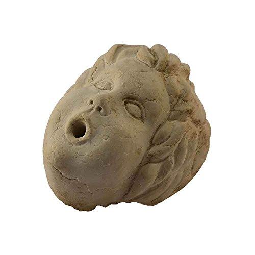 Putto de pared de mármol apricena esculpido a mano para fuente