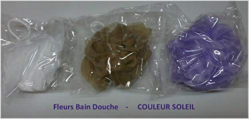 FLEUR BAIN DOUCHE COULEUR SOLEIL (coloris aléatoire)