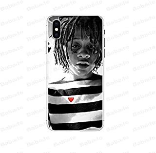 Inspired by Trippie Redd Phone Case Compatible With Iphone 7 XR 6s Plus 6 X 8 9 11 Cases Pro XS Max Clear Iphones Cases TPU- Shower- Longsleeve- Keychains- Things- Things- 33053036113