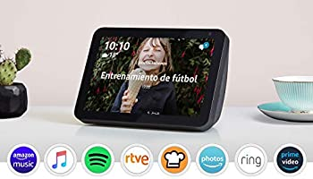 Presentamos el Echo Show 8: mantén el contacto con la ayuda de Alexa, tela de color antracita