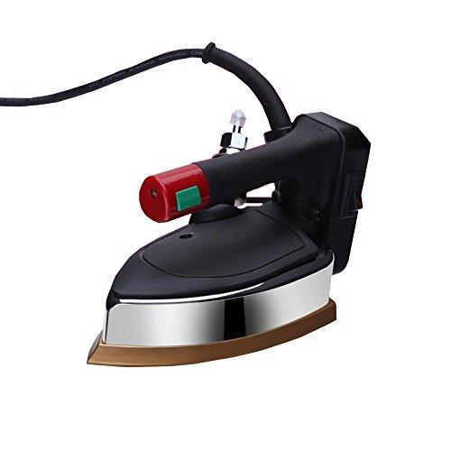 Generador De Vapor Vertical Plancha De Hierro Eléctrica 1200W Potente Plancha De Viaje Portátil Con Soleplate De Titanio Variable Control De Temperatura-Super Alto Tanque De Agua De 3000ml,Black-20.5*11.5*13cm