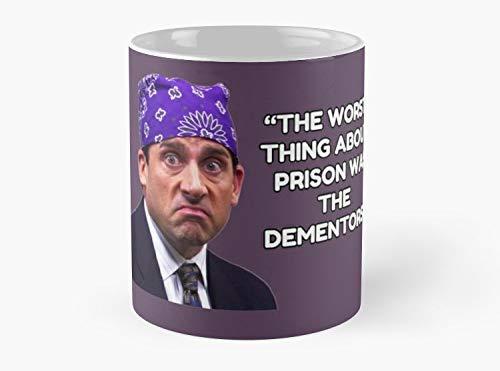 Lplpol Prison Mike – Camiseta Dementors – Taza de té de café – 11 oz de calidad premium impresa taza de té – Ideas de regalo únicas para amigos/compañeros de trabajo/seres queridos