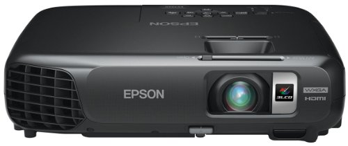 Epson EX7220, WXGA Widescreen HD, Wireless, 3000 Lumens Color Brightness, 3000 Lumens White Brightness, 3LCD Projector