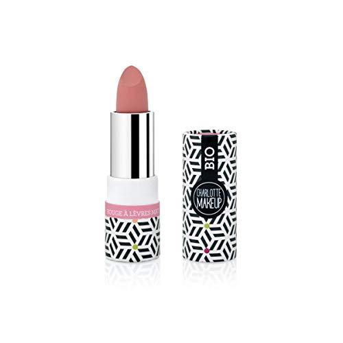 Charlotte Make Up - Rouge à Lèvres Mat - Maquillage Bio - Ro