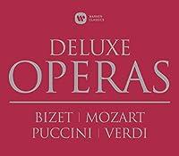 Opera Deluxe box: Carmen, Die Zauberflote, Don Giovanni, Tosca