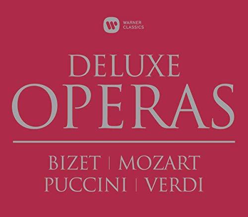 Deluxe Operas Box: Carmen, Die Zauberflote, Don Giovanni, To