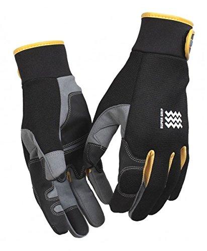 Handschuh Handwerk Schwarz/Grau 10