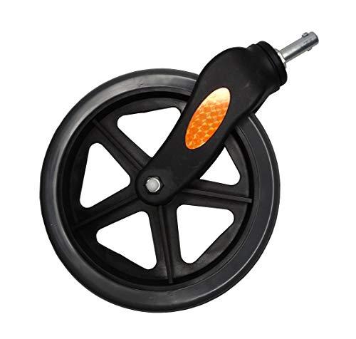 FabaCare Vorderrad für Rollator, Ersatzrad vorne für FC170, PU Rad