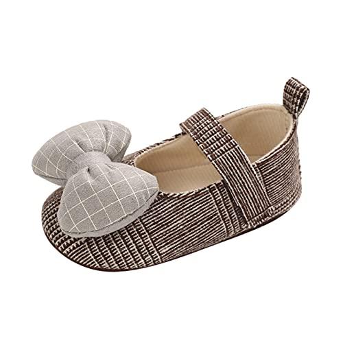 YWLINK Bebé NiñA Zapato De Princesa Zapatos NiñAs Carnaval Zapato Princesa NiñA Sandalias De Vestido Flat Shoes Bailarinas Princesa Zapatos Con TacóN Para CumpleañOs Zapatos Casuales A Cuadros