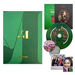 MAMAMOO 10th Mini Album - TRAVEL [ LIGHT GREEN ver. ] CD + Booklet + Polaroid + Photocard + FREE GIFT / K-POP Sealed