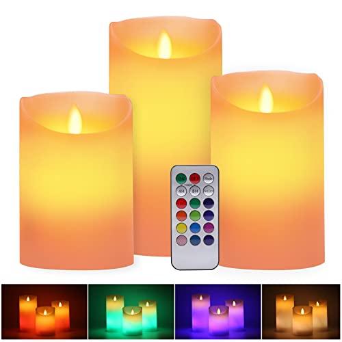 LUXONIC -  LED RGB Kerzen