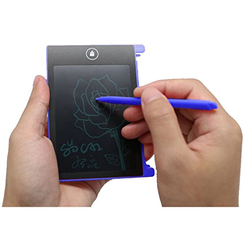 MIRAIS 4.5インチ 電子 メモ パッド メモ帳 (ブルー) MR-45MEMO-BL