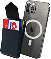 Sinjimoru Apple Magsafe Wallet for iPhone 12 Series, Magnetic Phone Wallet Stick on as Detachable Phone Card Holder for...