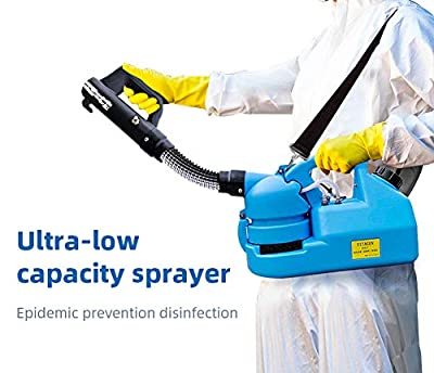 73HA73 Electric ULV Sprayer Portable Fogger Machine Disinfection Machine for Hospitals home Ultra Capacity Spray Machine,7L from 73FACAI