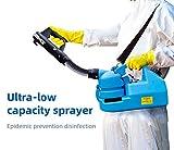 73HA73 Pulverizador Eléctrico ULV Máquina de Nebulización Portátil Máquina de Desinfección para Hospitales Hogar Máquina de Pulverización de Ultra Capacidad Sprayer,7L