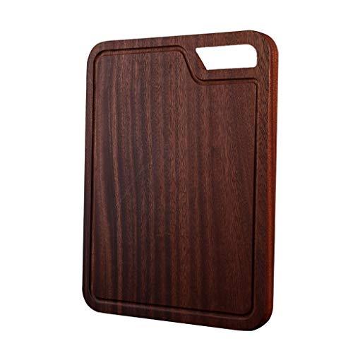 tabla de cortar Juntas vida útil de corte for la cocina de madera Orgánica del bloque de carnicero y el tallado de madera Tarjeta for la carne y cortar vegetales cocina