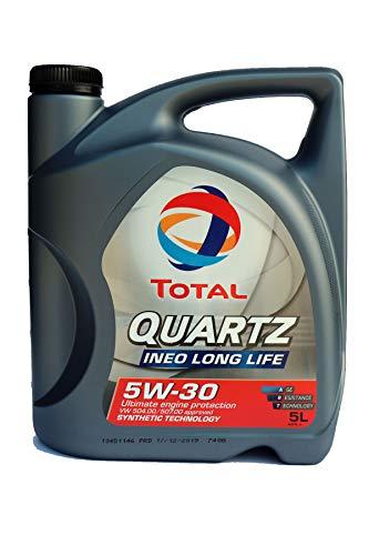 Total 181712 Quartz Ineo Long Life 5W-30 Motorenöl, 5 Liter
