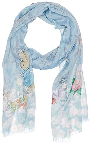 Beatrix Potter Peter Rabbit Scarf, Polyester, Mehrfarbig, 1 x 5 x 18 cm