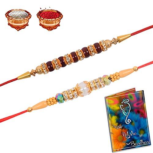 Sinjara Punjabi - Juego de 2 piezas con Roli Chawal