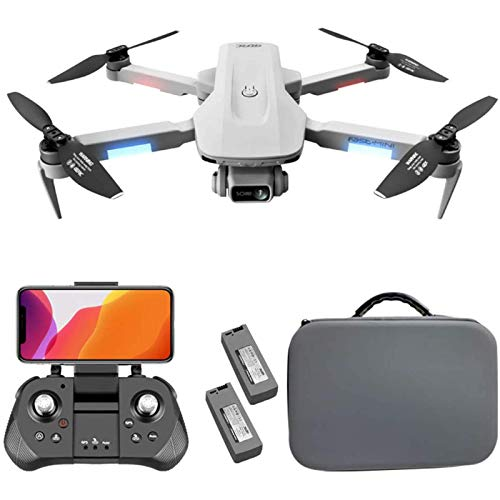 LDDZB GPS Drone 5G WiFi FPV Live Video, Drones for Adults with 4K Camera for Adults, 2000M Image Transmission Distance, GPS/Optical Flow Dual Positioning, 5000M Remote Control Distance
