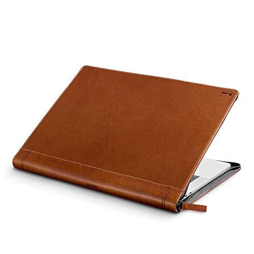 """Twelve South Journal - Funda de Cuero con Bolsillo Interior para 15"""" Apple MacBook Pro, Color marrón"""