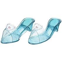 Rubies- Elsa Frozen, Zapatos con purpurina para niñas, Azul (Talla única)