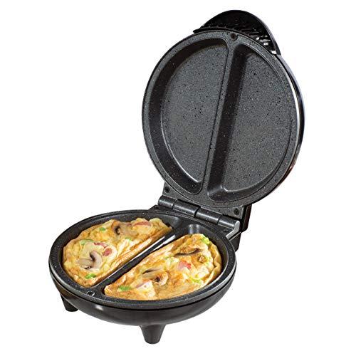 Daewoo SDA1556 750W Deep Fill Non-Stick Omelette Maker-Cool Touch...