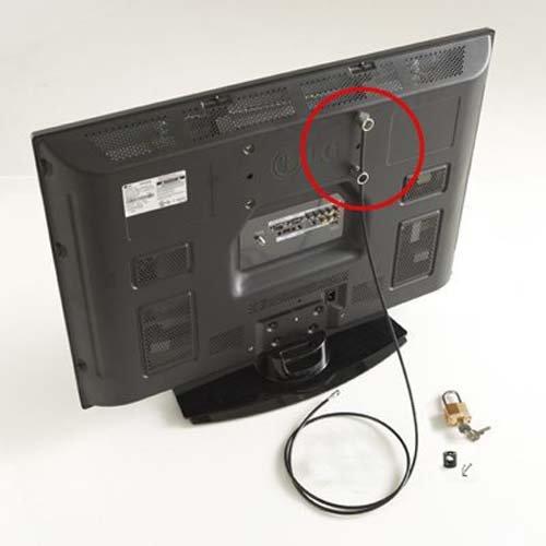 Flat Screen TV Anti-Theft Security Kit