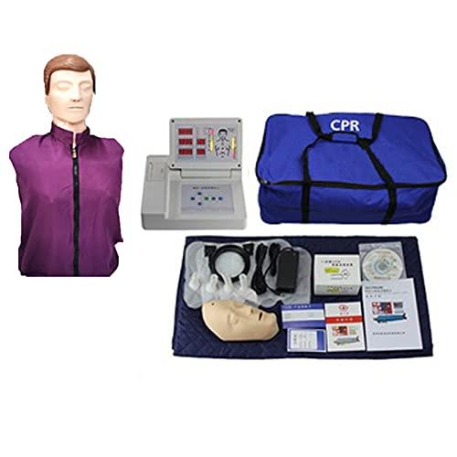 GXGX RESUMIÓN CARDIOPULMONARIO Humano SIMULACIÓN CARDIOPULMONARIO Modelo MÉDICO Medio Medio Cuerpo CPR Manikin Kit Humano, PRÁCTICA, COMPRESIONES DE Pecho