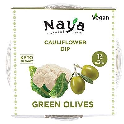 Cauliflower Hummus Low Carb, Sugar Free, Keto F...