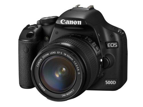 Canon EOS 500D - Cámara Réflex Digital 15.1 MP (Objetivo EF-S 18-55)