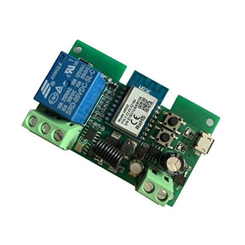 MHCOZY Smart Wireless WiFi Relay Switch, control de voz de su chimenea, trabajo con Alexa Assistant IFTTT (Smart life app WIFI RF)