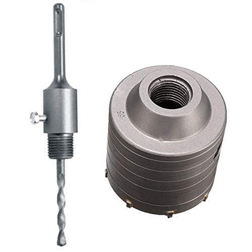 XUSHEN-HU Buffing Wheel 1 Set SDS Plus 80Mm Concrete Hole Saw Electric Hollow Core Drill Bit Shank 110Mm Cement Stone Wall Air Conditioner Alloy Tools