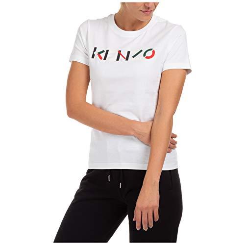 Kenzo Mujer Camiseta Bianco M