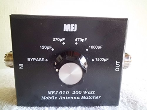 MFJ Enterprises Original MFJ-910 Mobile Antenna Matcher 10-80 Meters. Buy it now for 43.98
