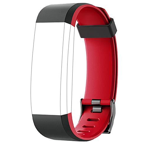 YAMAY Ersatz Armband für SW350 Fitness Tracker (Rot)