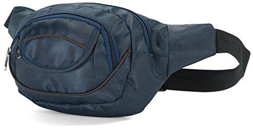 Sac ceinture banane BENZI BZ-4300 Bleu