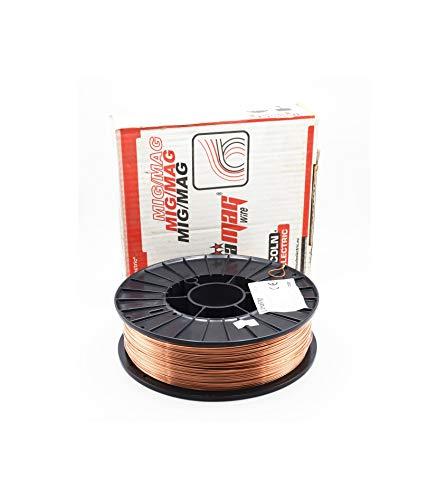 Maq. PB - Hilo soldar mig mag Lincoln Electric Ultramag Bobina 5kg 0.8mm y 1.2mm (1.2mm)