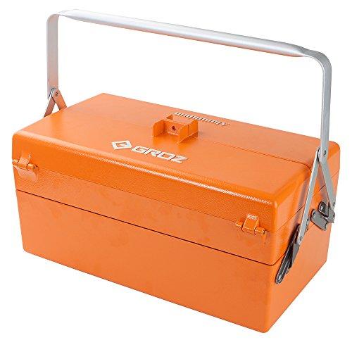 GROZ Cantilever Tool Box | Five Tray | Aluminum |...