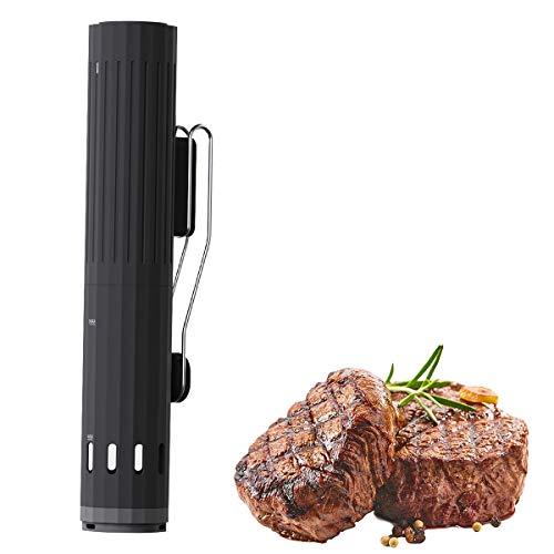 ZYGF Sous-Vide, Circulador De Inmersión con Temperatura Precisa De 25 a 92℃ Y Control De Tiempo, Cocinero Al Vacío Fácil De Usar para Una Alimentación Saludable